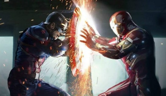 Captain vs Iron-Man