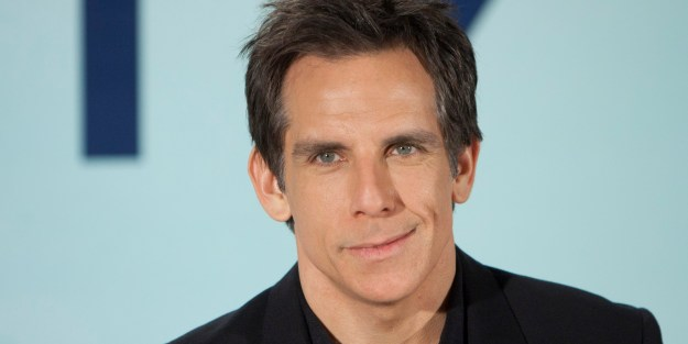 US actor Ben Stiller poses during the photocall of 'The Secret Life of Walter Mitty' at Villamagna Hotel in Madrid, Spain, Monday December 16, 2013. (AP Photo/Abraham Caro Marin)