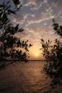 Coucher de soleil sur Efrane