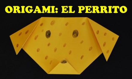 Manualidades con Papel, Origami para Niños Facil El Perrito