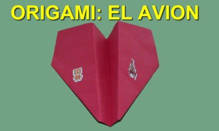 Origamis de Papel, Origami Facil de Papel para Niños El Avion