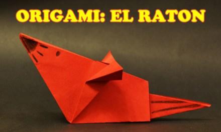 Origamis de Papel, Origami para Niños Facil El Raton, Origami de Animales