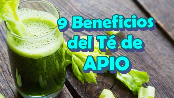 9 Beneficios médicos del Té de APIO para Adelgazar o Bajar de Peso