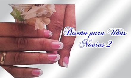 Fotos o Imagenes de Uñas Decoradas, Manicure, Diseño de Uñas para Novias o Matrimonio paso a paso 14