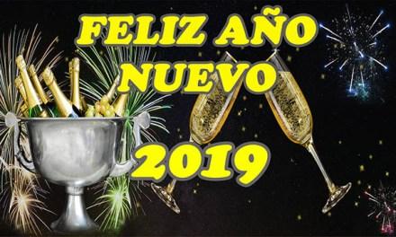 Mensajes de Año Nuevo con Frases de Feliz Año Nuevo 2019