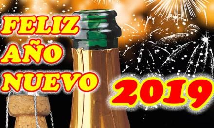 Feliz Año Nuevo 2019 con Frases de Felicitacion de Año Nuevo
