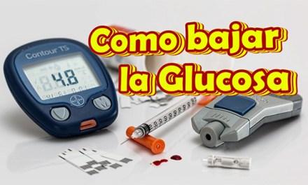 Como bajar la Glucosa en la Sangre Naturalmente y rapido, Combate la Diabetes con Remdios Caseros