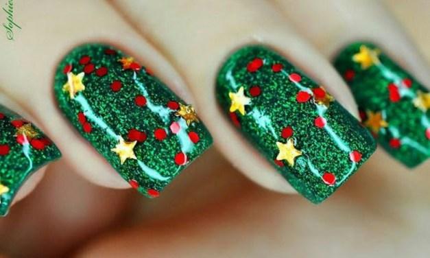 Uñas Decoradas de Navidad 6