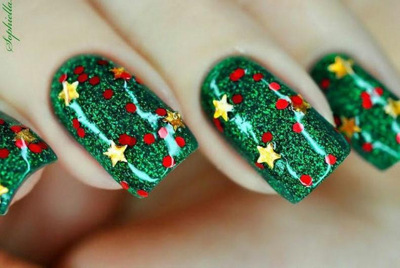 Moderno Uñas Diseños De Navidad Foto Imagen - Ideas Para Esmaltes ...