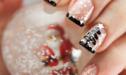 Uñas Decoradas de Navidad 7