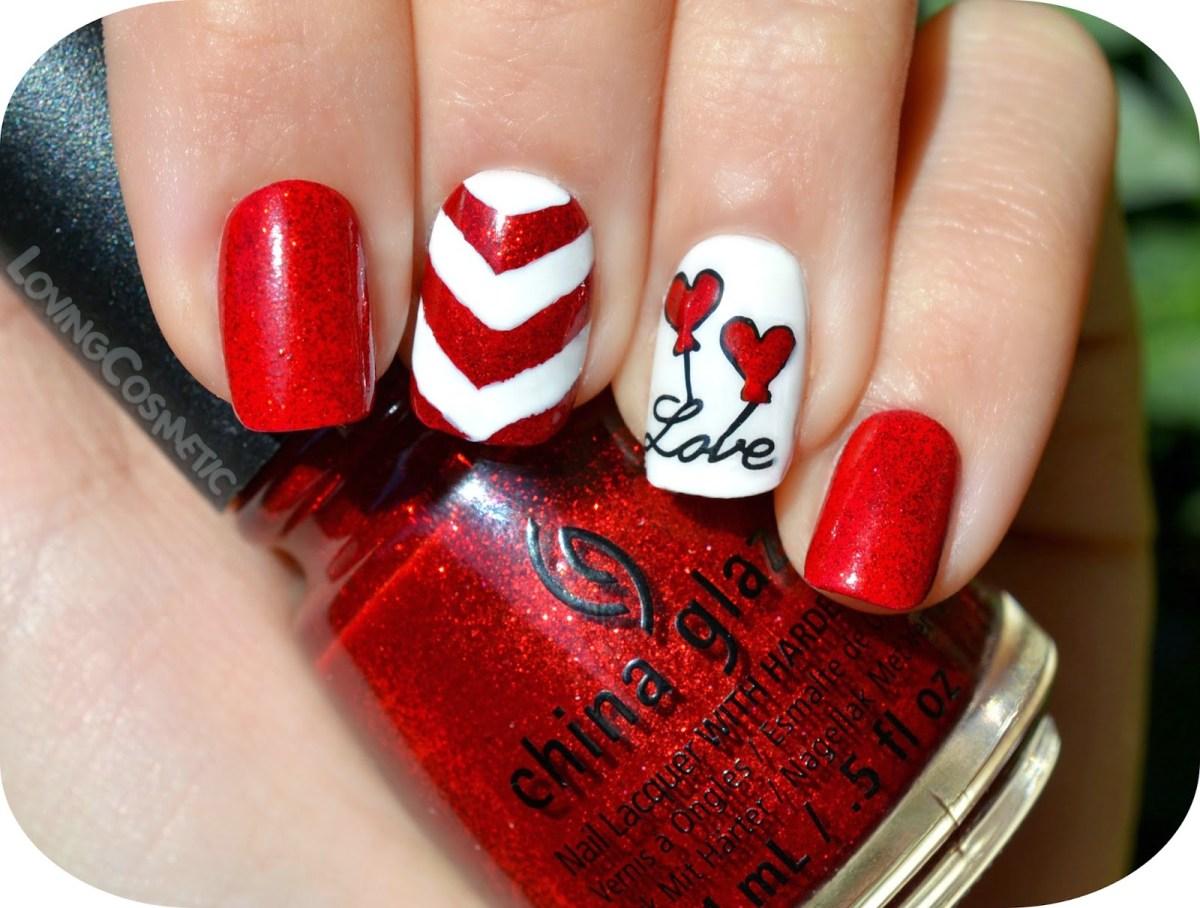 Diseño De Uñas Para San Valentin 14 Canal De Entretenimiento Y