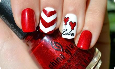 Diseño de Uñas para San Valentin 14