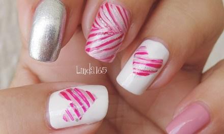 Diseño de Uñas para San Valentin 7