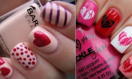 Diseño de Uñas para San Valentin 8