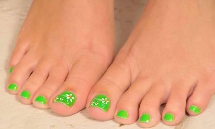 Diseño de Uñas para pies 6