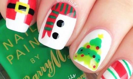 Uñas Decoradas de Navidad 30