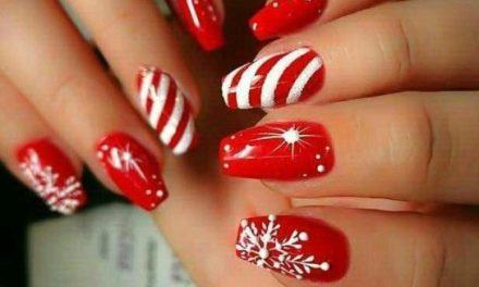 Uñas Decoradas de Navidad 39