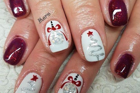 Uñas Decoradas de Navidad 43