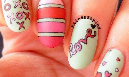 Diseño de Uñas para San Valentin 21