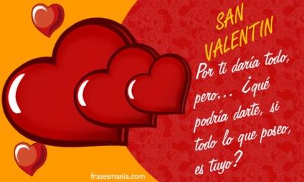 Frases de San Valentin 14