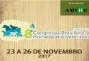 8º Congresso Brasileiro de Homeopatia Veterinária