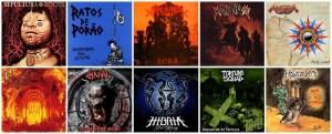 "10 das melhores bandas brasileiras de Metal, segundo a revista ""Metal Hammer""."