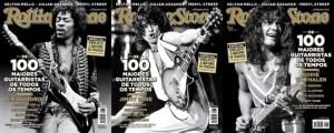 """Os 100 maiores Guitarristas de todos os tempos, segundo a revista """"Rolling Stone""""."""