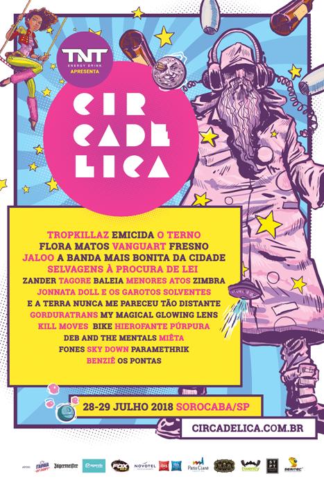 Circadélica 2018 Line Up