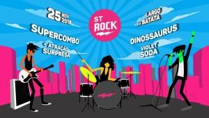 O Street Rock chega a sua 26ª edição com shows gratuitos em São Paulo.