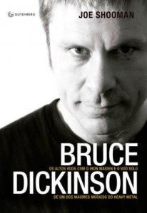"""Livro: """"Bruce Dickinson, Os altos voos com o Iron Maiden…"""""""