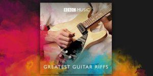 """Os 100 maiores """"riffs"""" de guitarra da história do rock, segundo os ouvintes da """"BBC Radio 2""""."""