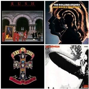 "Playlist do Rock – ""Clássicos do Rock"""