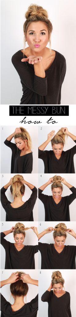 peinados faciles 12