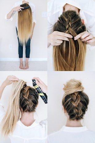 Peinados fáciles para hacerse uno mismo paso a paso