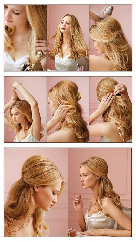 Peinados de novia facil paso a paso