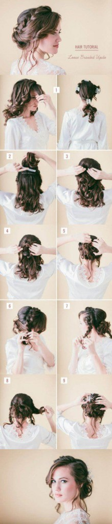 peinados faciles 5