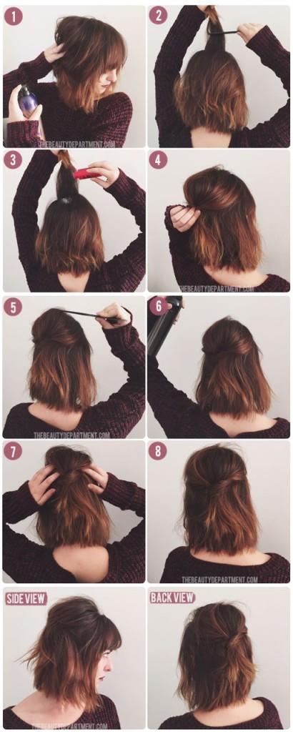 peinados faciles 72