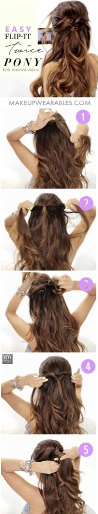 Videos de peinados faciles con pelo suelto