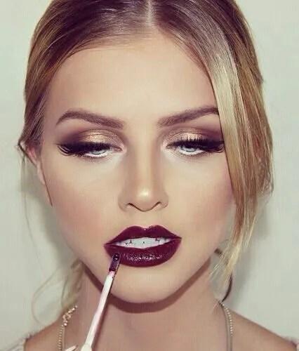 vídeos de maquillaje de noche
