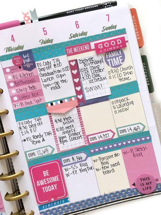 como organizar tu agenda 4