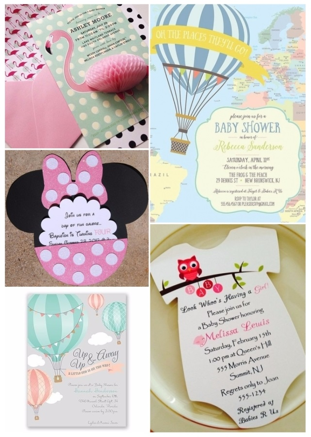 lo ultimo en invitaciones para baby shower