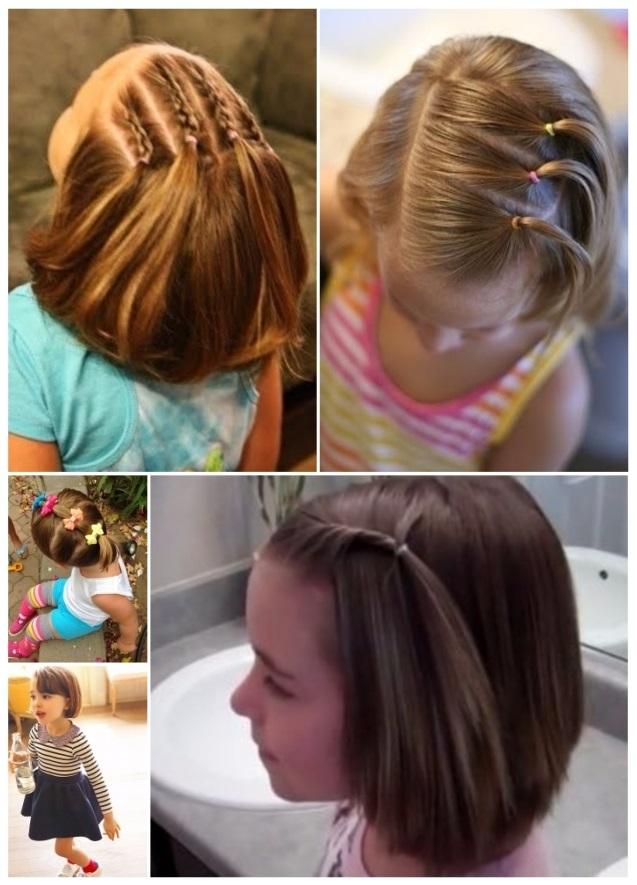 peinados para cabello corto para ir al colegio