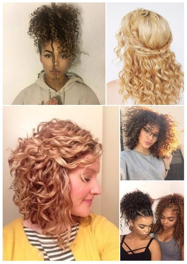 diseños de peinados de noche
