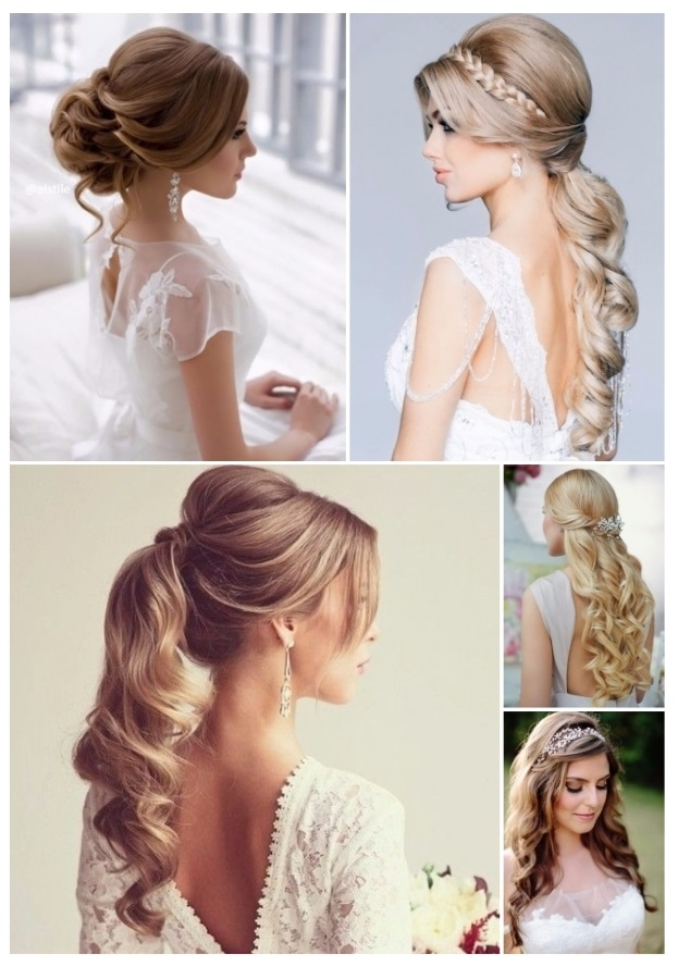 lo mas nuevo en peinados de novia