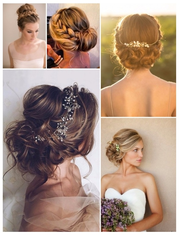 imagenes de peinados de novia recogidos
