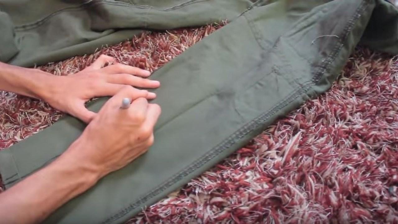 Como Entubar Un Pantalon Paso A Paso Facil Y Sin Maquina