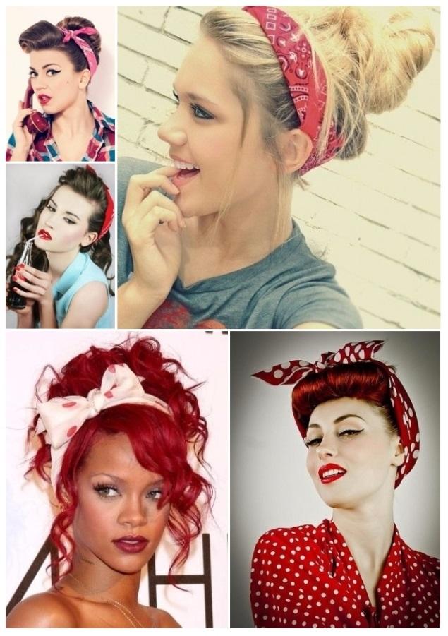 peinados pin up para cabello largo y corto ideas y tutorial