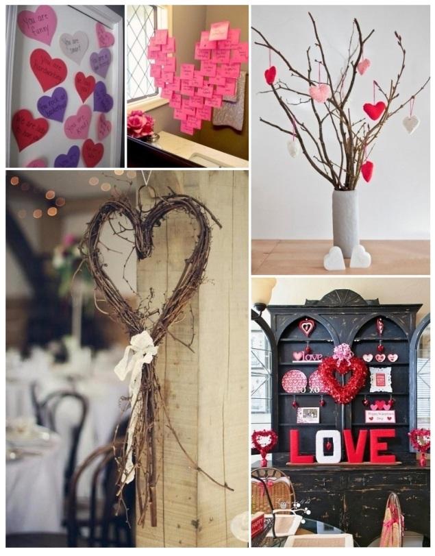 como decorar para San Valentín 11