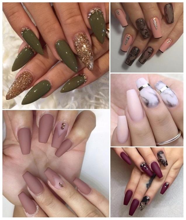 decoracion de uñas elegantes y sencillas