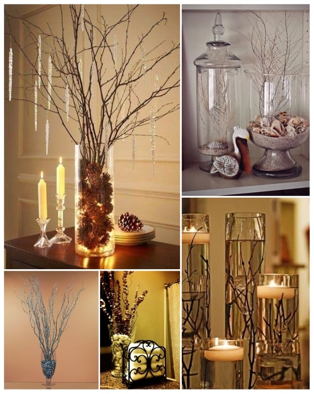 Decorar con ramas secas ideas r sticas y geniales para tu hogar - Como decorar un arbol seco ...